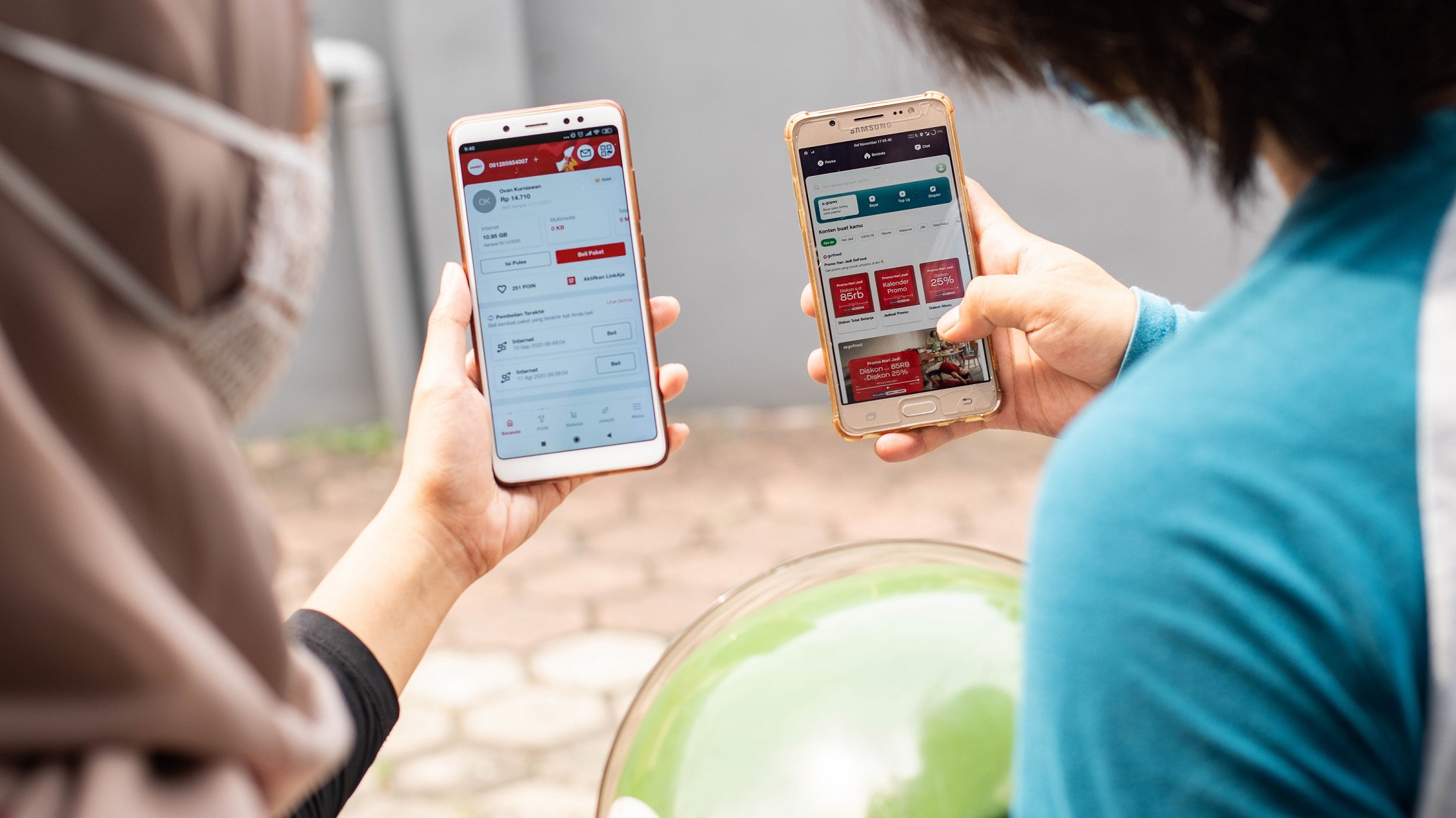Telkomsel dan Gojek Perkuat Sinergi untuk Pemberdayaan Mitra UMKM secara Berkelanjutan